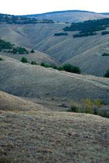 Орджоникидзе. Край голубых холмов