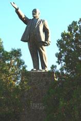Орджоникидзе. Памятник Ленину