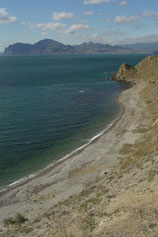 Орджоникидзе. Прибрежная полоса
