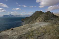 Орджоникидзе. Вид на гору Васюкова