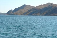 Орджоникидзе. Двуякорная бухта. Гора Седло