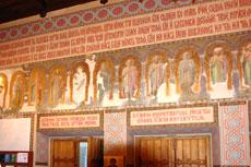 Ореанда, церковь Покрова, лики святых