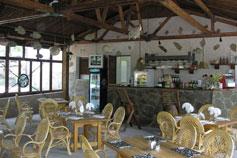 База отдыха Артемида в Понизовке. Кафе.