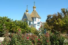 Поселок Приморский. Храм Святителя Николая Чудотворца
