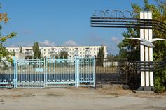 Поселок Приморский. Стадион Альбатрос