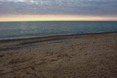 Саки. Санаторий Полтава. Пляж. Закат