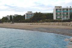 Саки. Фото санатория Полтава с моря