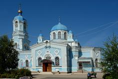 Саки. Свято - Ильинский храм