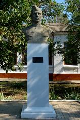 Саки. Памятник сапёру Сенченко Ф.Й.