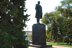 Саки. Памятник Ленину