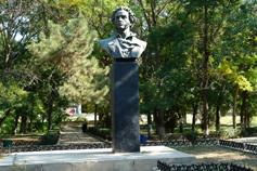 Саки. Сквер Пушкина. Памятник Пушкину