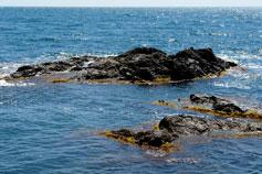 Крымский берег у мыса Сарыч