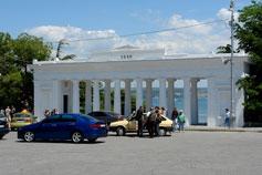 Город Севастополь. Графская пристань