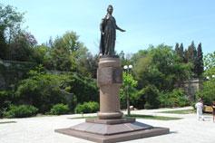 Севастополь. Памятник Екатерине II (Великой)