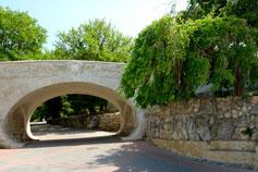 Севастополь. Приморский Бульвар, мостик