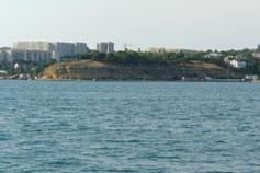Севастополь. Проспект Победы с моря