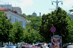 Севастополь. Проспект Нахимова