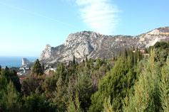 Симеиз, весна, гора Кошка