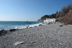 Симеиз. Берег моря ноябрь 2008
