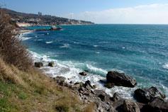Морской пейзаж Симеиза