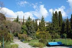 Симеиз, парк санатория Симеиз