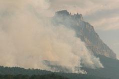 Ялта Ай-Петри в огне 2007