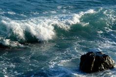 Чёрное море, волна