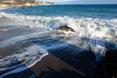 Море, накат волны