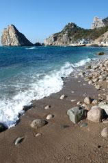 Симеиз, городской пляж моря