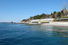 Симеиз, пляж санатория Симеиз