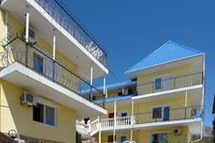 Крым гостиница Атрий в Симеизе. Бронирование гостиниц и отелей в Крыму