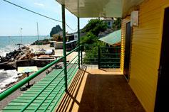 Симеиз гостиница Акваполис на берегу моря Бронирование гостиницы