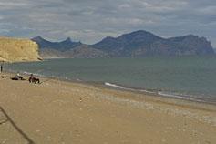 Пляж Солнечной Долины