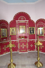 Иконостас в часовне Пантелеимона
