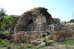 Старый Крым. Развалины медресе