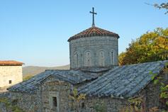 Купол церкви Сурб-Ншан монастыря Сурб-Хач в Старом Крыму