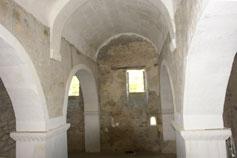В трапезной монастыря Сурб-Хач в Старом Крыму