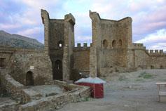 Судак. Крепость. Главные ворота