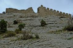 Судак. Крепостная стена