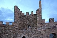 Судак. Крепость. Верхний замок. Георгиевская башня