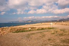 Морской пейзаж в окрестностях Судака