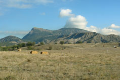 Горы в окрестностях Судака
