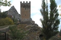 Судак. Крепостная башня