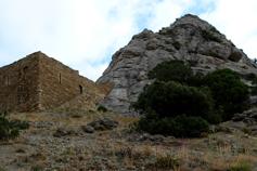 Судакская крепость. Угловая башня