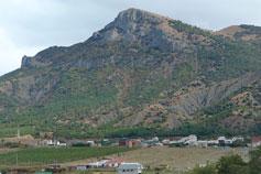 Судак. Гора святого Георгия