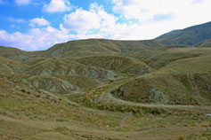 Гора Урманы-Усту близ мыса Меганом