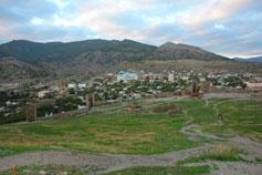 Судак. Вид на город от крепости