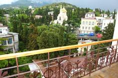 Вилла Елена, вид с балкона