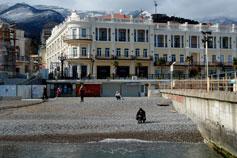 Ялта. Фото отеля Марино с моря
