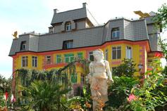 Ялтинский зоопарк Сказка. Административное здание